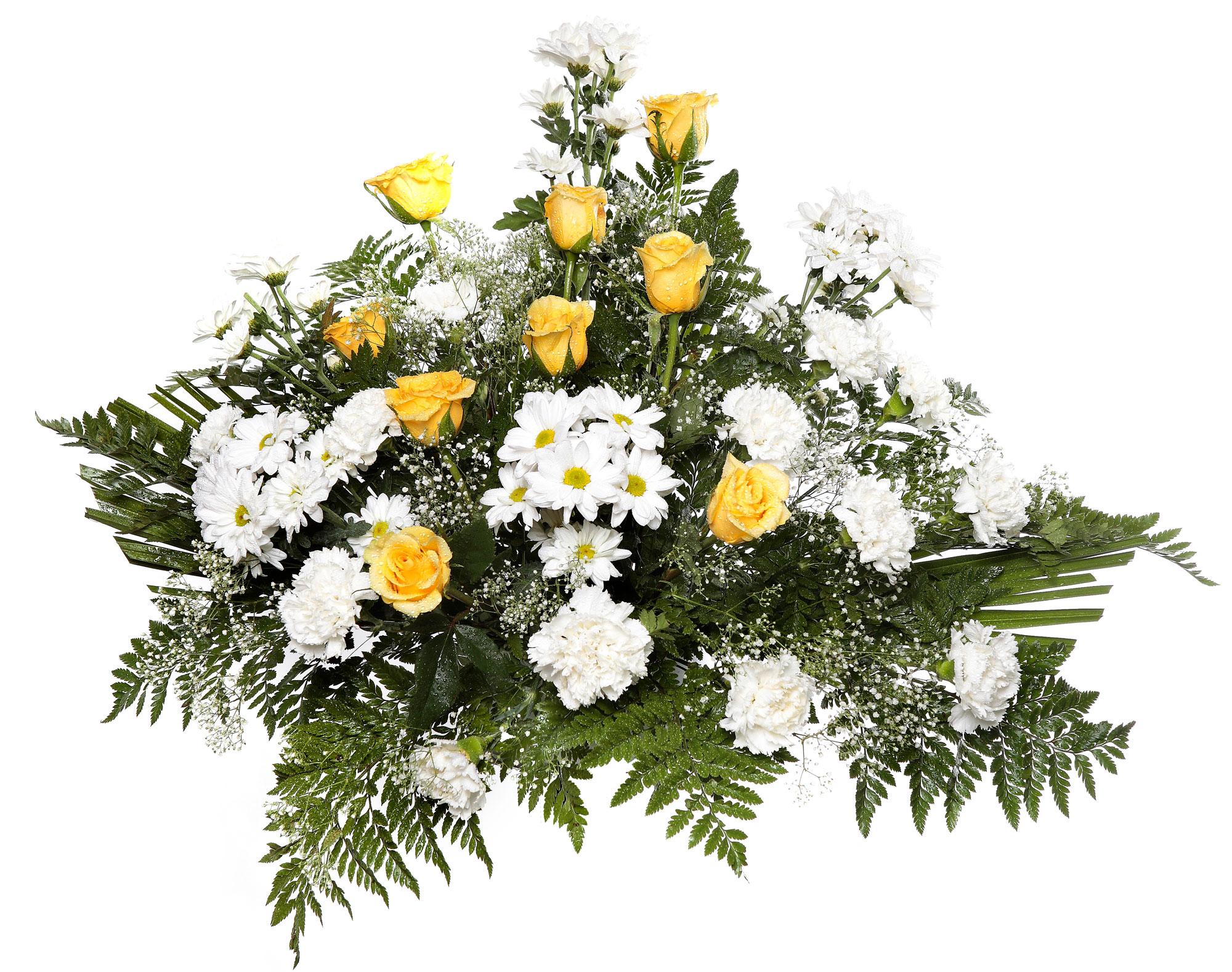 Centro flores modelo 2 tanatorio detalles tanatorios en le n flor flora flores para - Centro de flores naturales ...