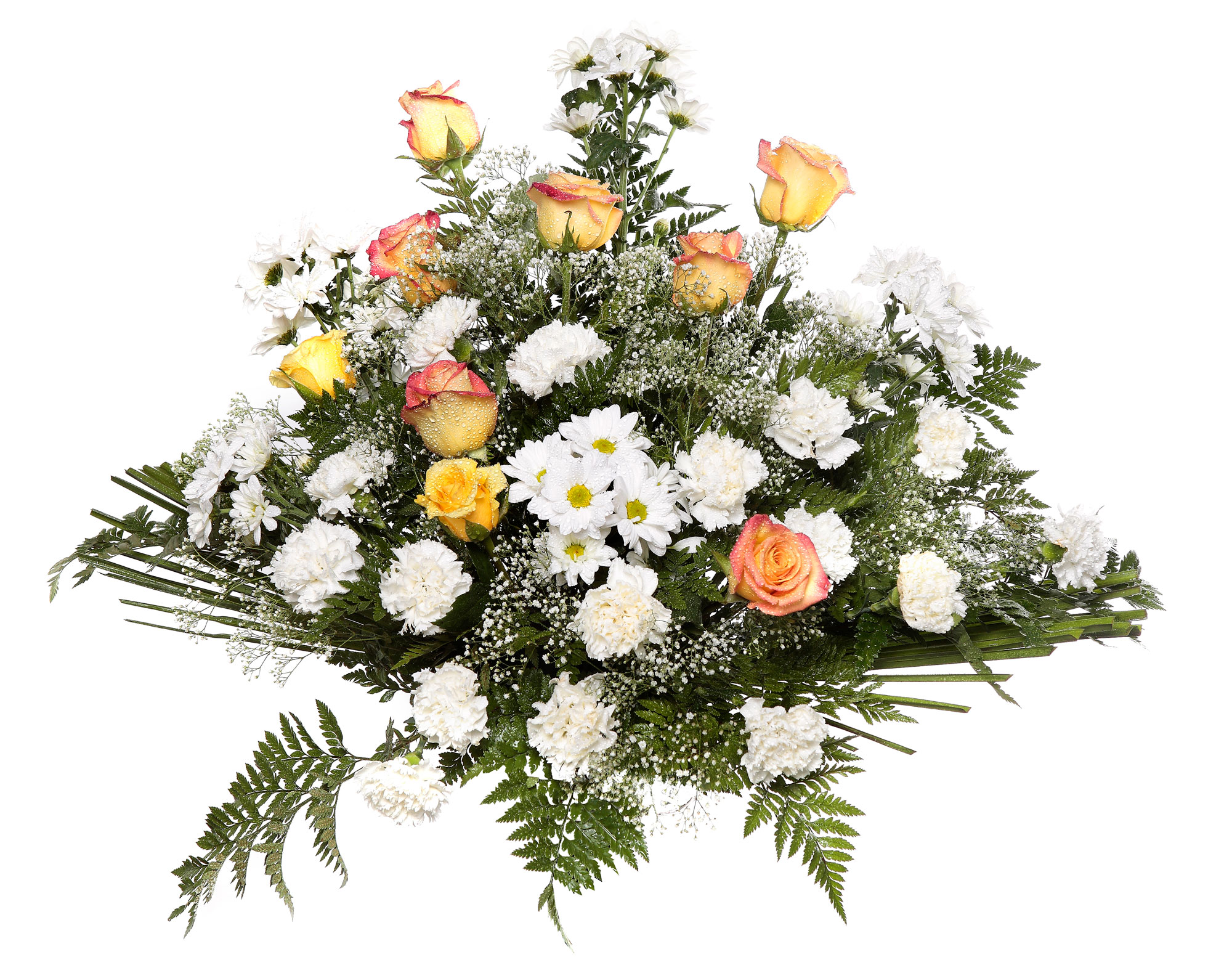 Centro flores modelo 3 tanatorio detalles tanatorios - Centros de rosas naturales ...