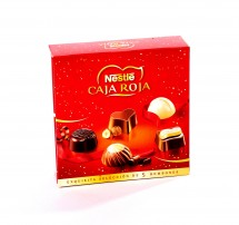 Caja roja Nestlé 5 bombones