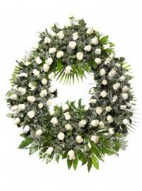 Corona flores tanatorio 9 B