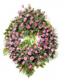 Corona flores tanatorio 9 C
