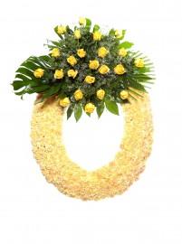 Corona flores tanatorio 3 Z