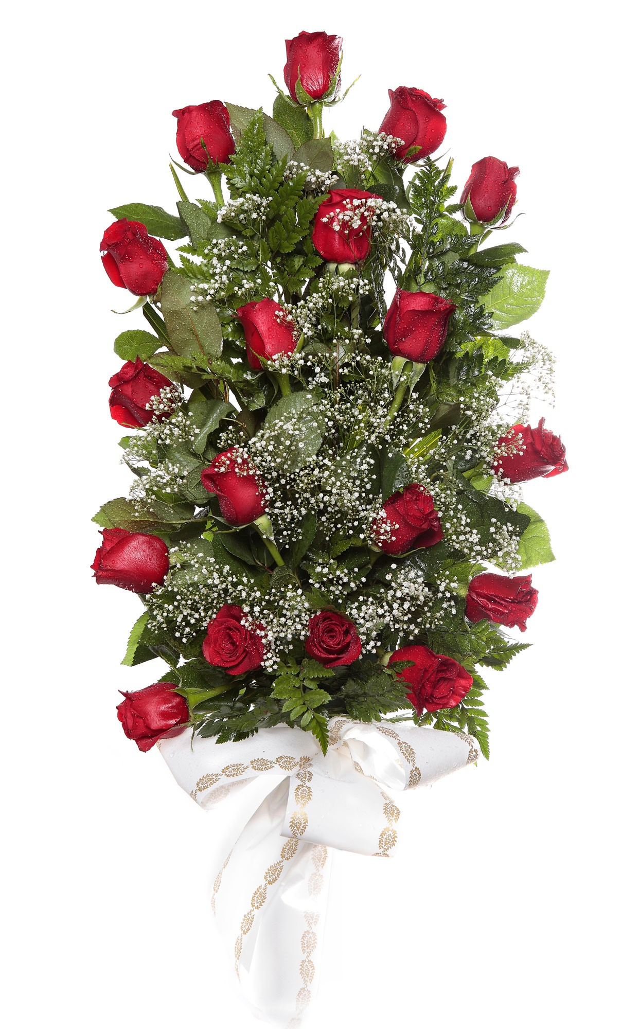 Ramo 18 rosas tanatorio
